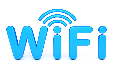 Wifi symbol Banque d'images