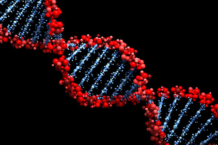 DNA background 写真素材