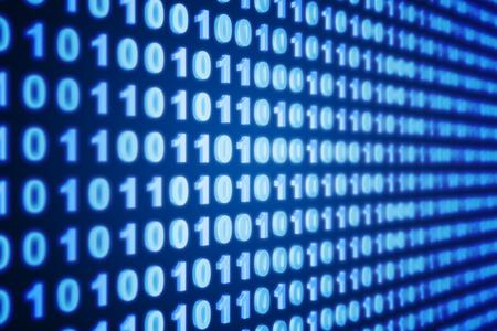 codigo binario: Binarios de fondo Foto de archivo