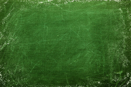 green and black: Blank chalkboard