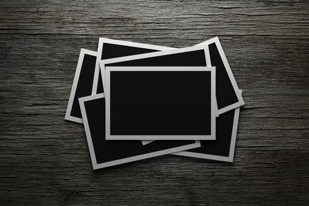 blank photo: Blank photos Stock Photo