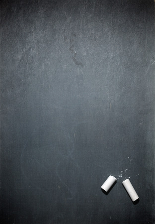 black textured background: Blank chalkboard