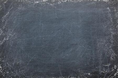 Blank chalkboard photo