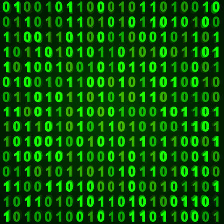 digital code: Computer abstract background
