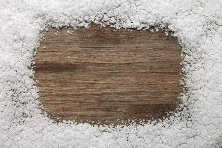 Snow frame background Banco de Imagens