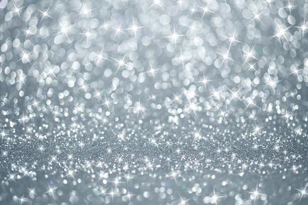 Silber Lichter Hintergrund