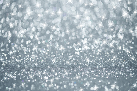Silver lights background photo