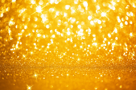 Golden lights background