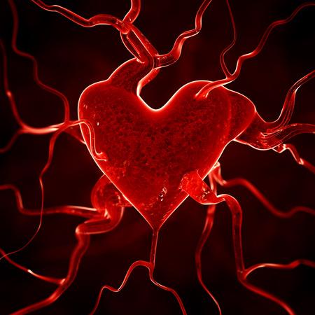 lifeblood: Heart background