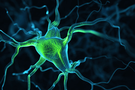 axon: Neurons abstract background Stock Photo