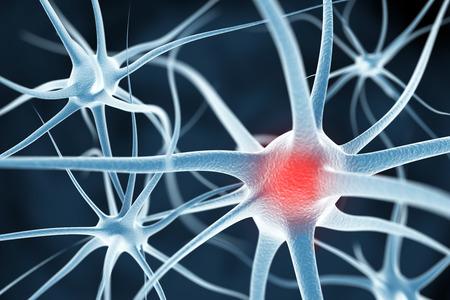 ニューロンの抽象的な背景