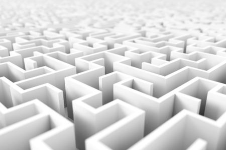 Endless maze background