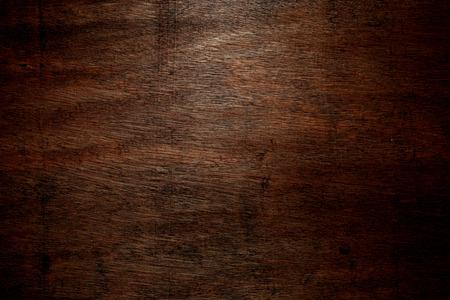 El fondo de madera oscura Foto de archivo