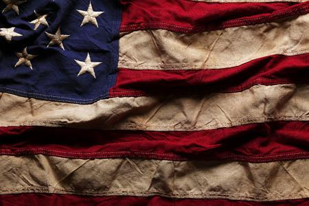 spojené státy americké: Staré Americká vlajka pozadí pro Memorial Day nebo 4.července