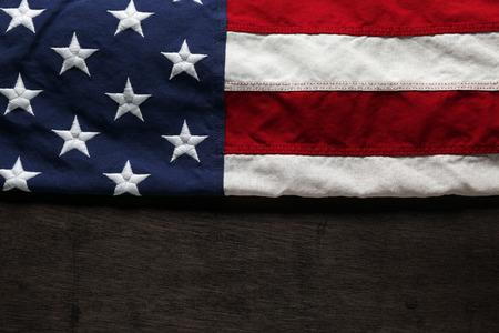 현충일 또는 7 월 4 일에 미국 국기 스톡 콘텐츠 - 40112776