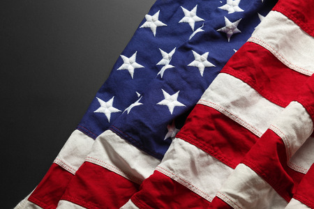 july 4th: American flag background for Memorial Day or 4th of July