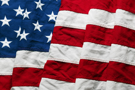 american flags: American flag background for Memorial Day or 4th of July