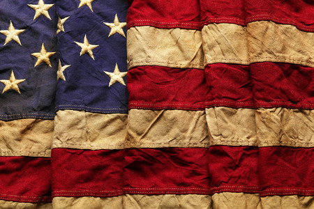 memorial day: Old American flag background for Memorial Day or 4th of July