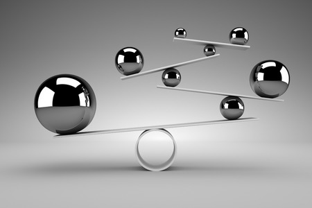 Balance concept Stockfoto