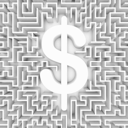 financial concept: Money problems