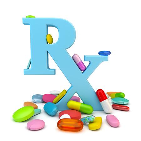 Prescription drugs 스톡 콘텐츠