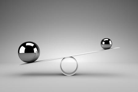 Balance concept Banque d'images