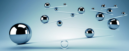 Balance concept Imagens