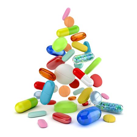 recetas medicas: Medicamentos recetados Foto de archivo