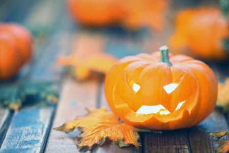 jack o lantern: Halloween jack o lantern background Stock Photo