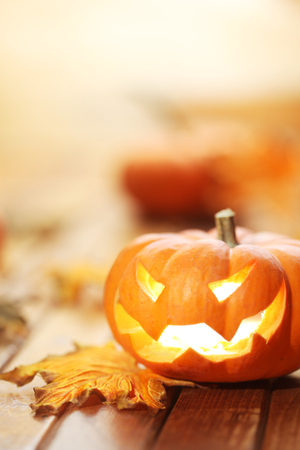 Halloween jack o lantern background Stok Fotoğraf