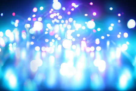 blue light background: Blue lights abstract background Stock Photo