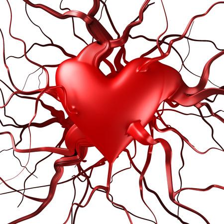 lifeblood: Abstract heart