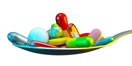 capsule: Dose of colorful pills