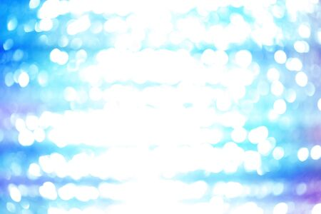 Abstract blue lights background Stock Photo