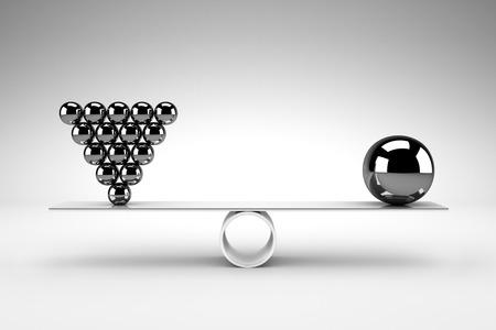 Balance concept Foto de archivo