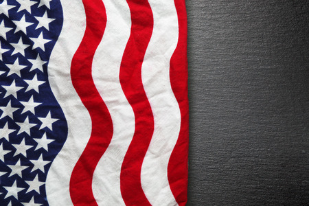 black history: American flag background for Memorial Day or 4th of July