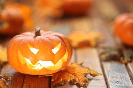 jack o latern: Halloween jack o lantern background Stock Photo