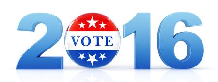 rendering: 2016 election - 3d rendering