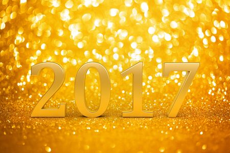 wallpaper vibrant: 2017 New years glitter background Stock Photo