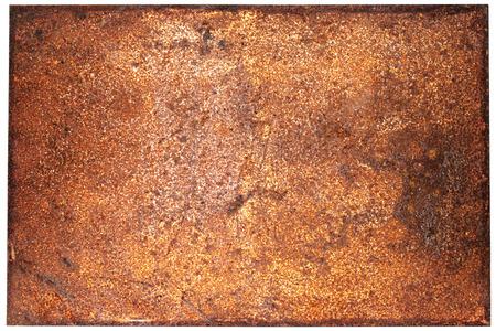 corroded: Dark rust background Stock Photo