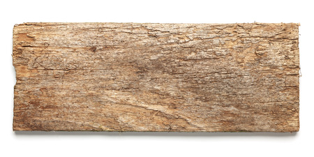 오래 된 착용 된 나무 보드 화이트 절연
