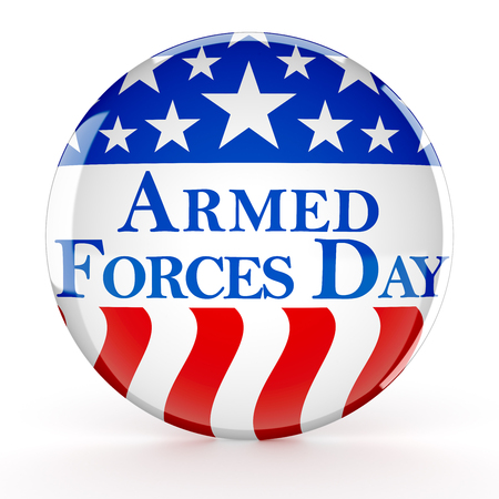 Botón del día de las fuerzas armadas