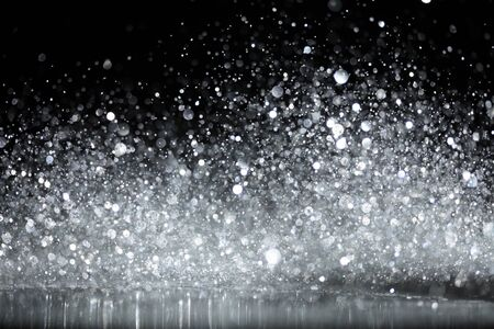 Sparkling glittering lights abstract Stock Photo