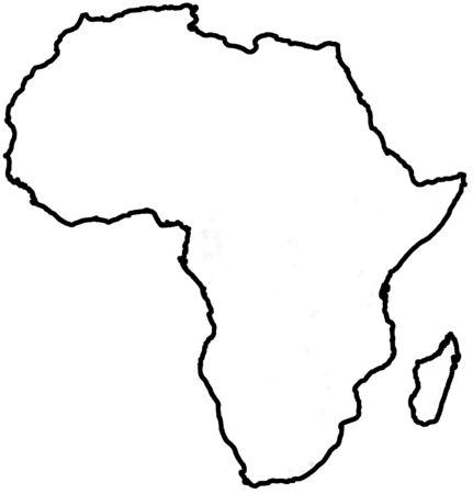 Afrique carte circuit