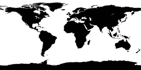 solid: World map solid