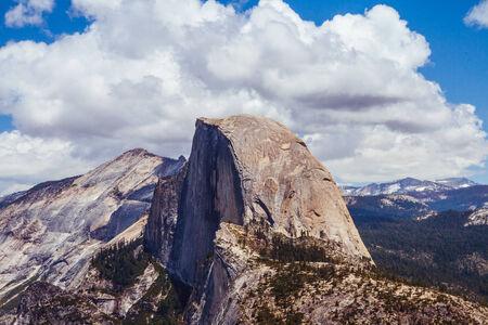 half dome: Half dome at Yosemite