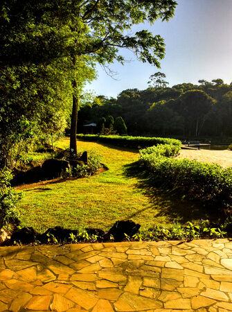 oosterse landschap Stockfoto