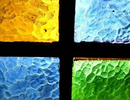 colored window: Colored window glass