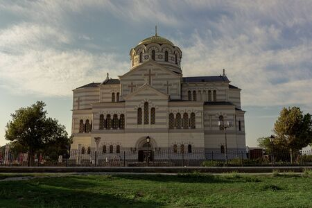 The Vladimir Church in the ancient city of Chersonese, the city once inhabited by the ancient Taurians