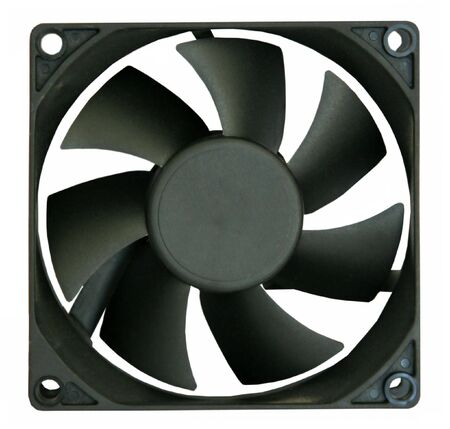 airflow: The fan for cooling the processor and a power unit of a